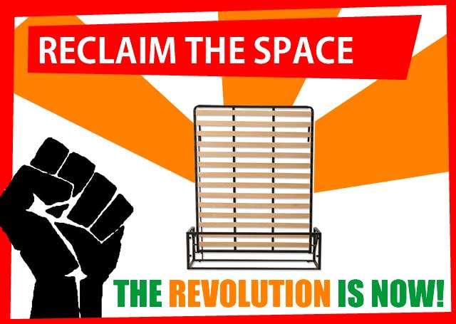 Reclaim the space, from £269, the revolution is now!
