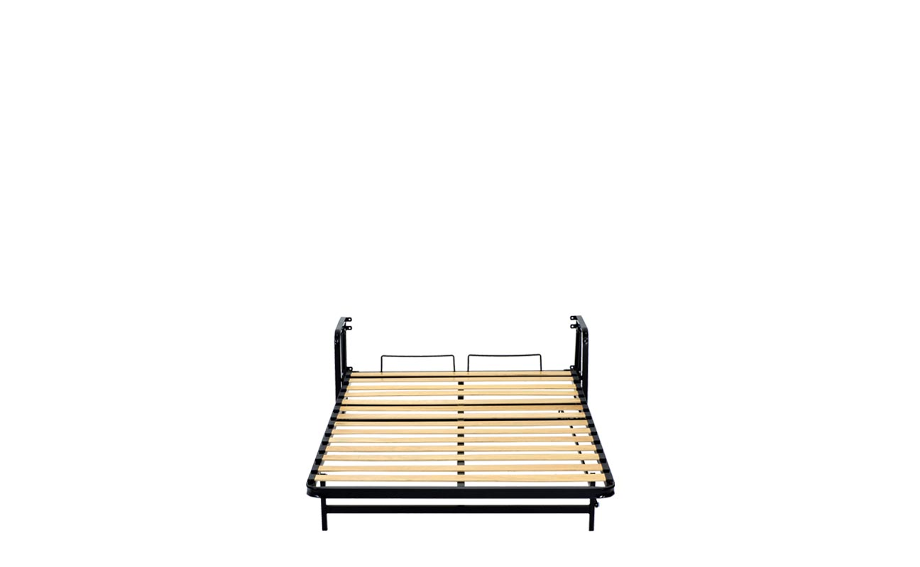 Small double wall bed frame 8