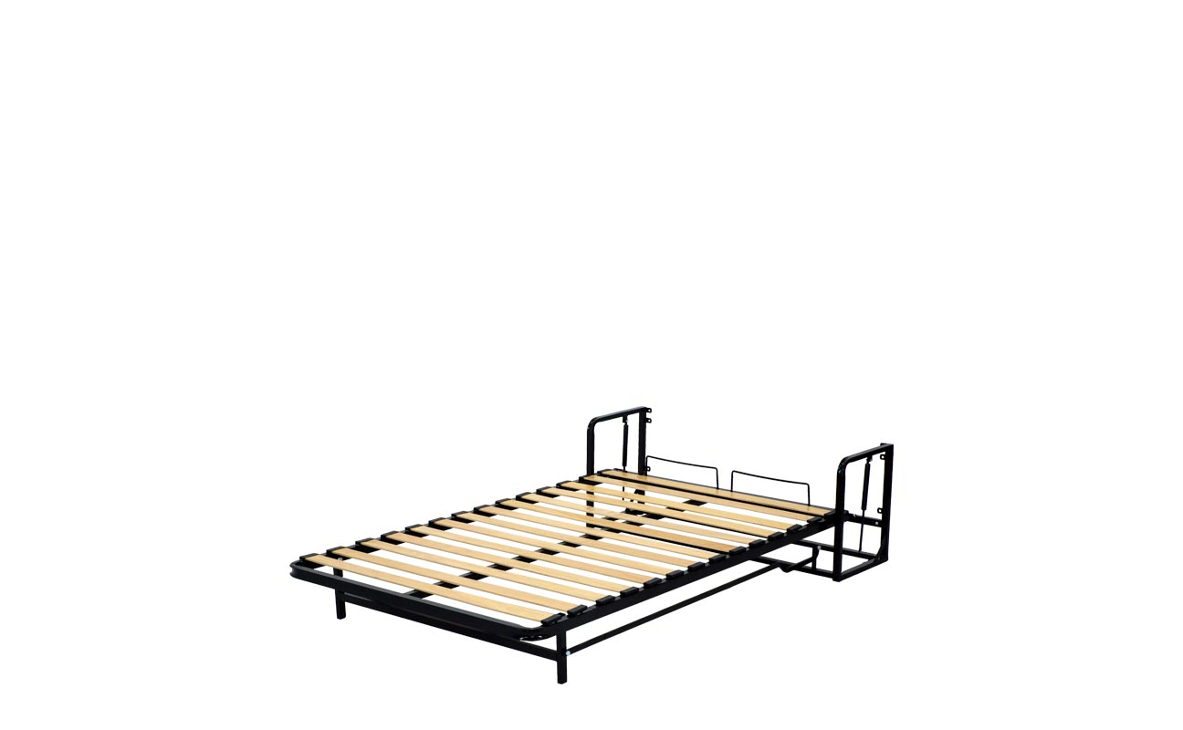 Small double wall bed frame 10