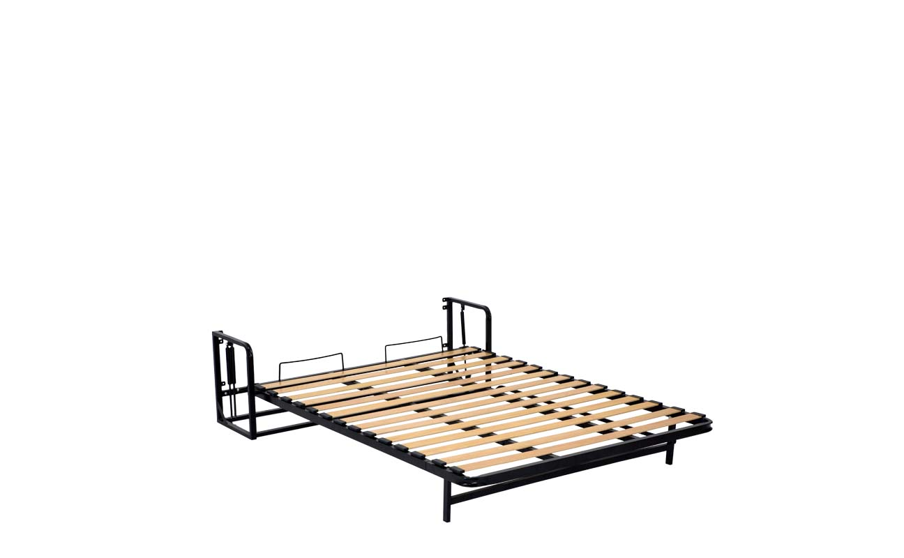Double wall bed frame 9