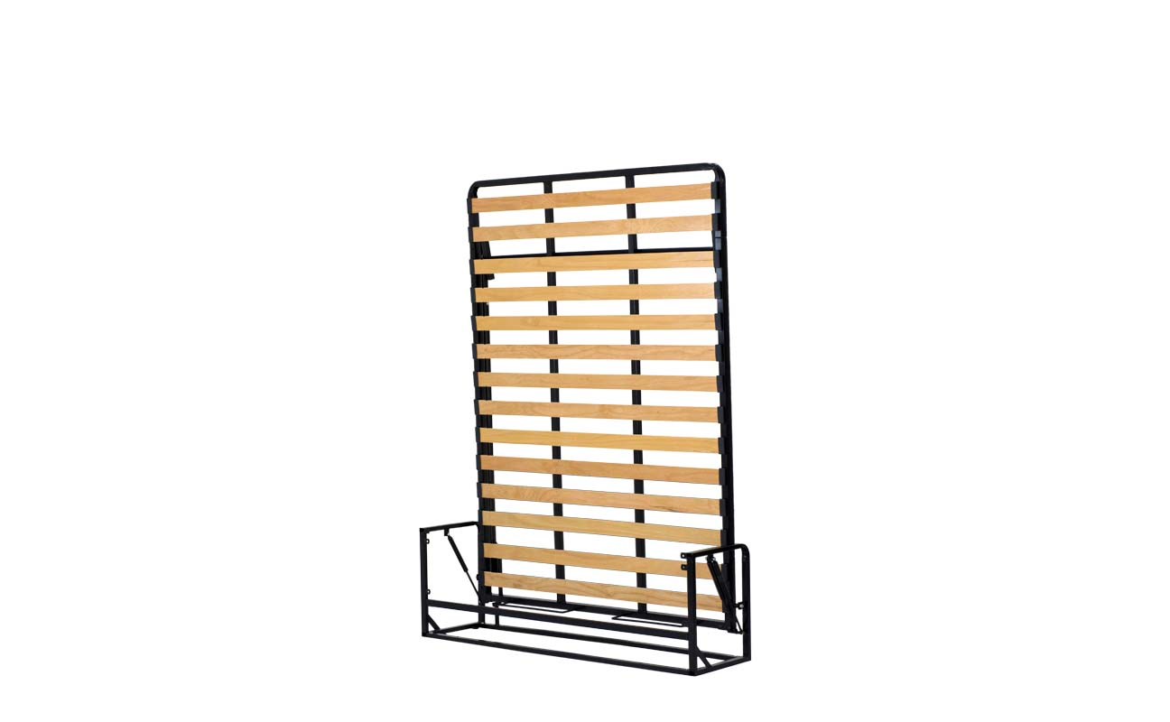 Small double european vertical wall bed frame 6