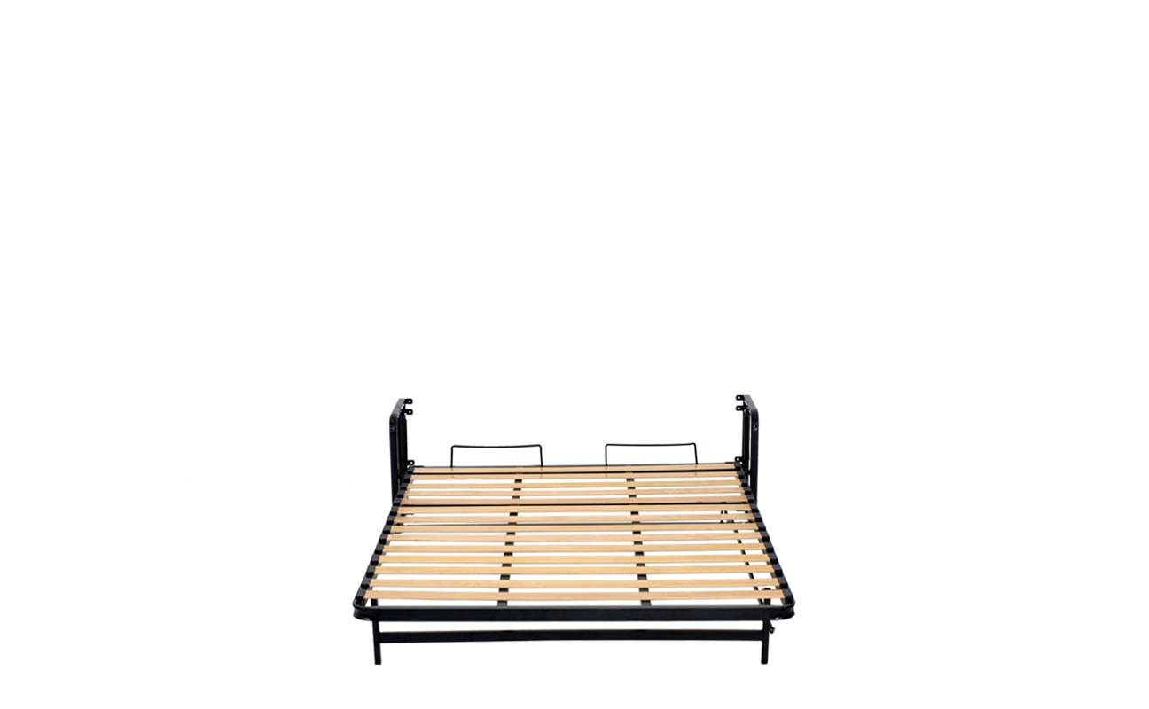 Double european vertical wall bed frame 7