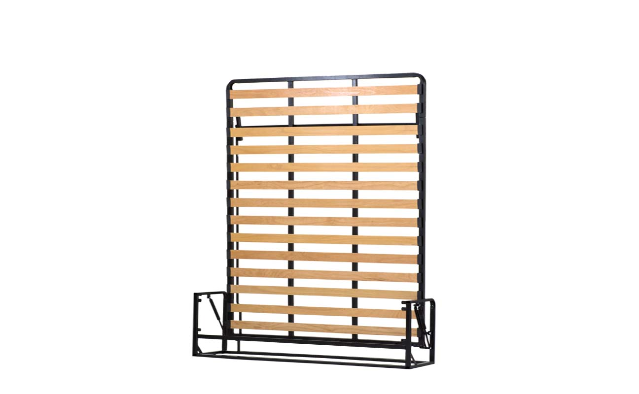 King european vertical wall bed frame 3