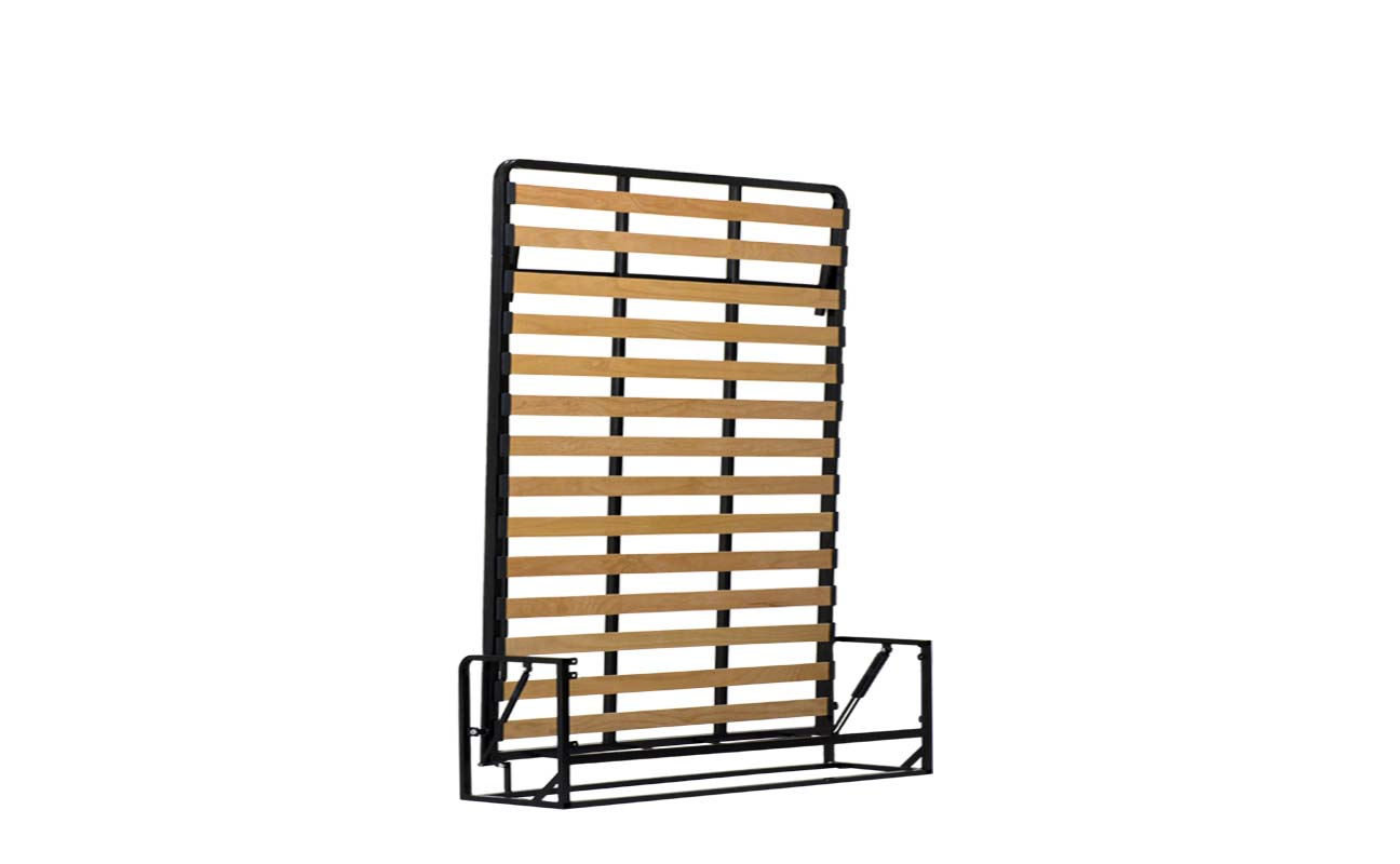 King european vertical wall bed frame 4