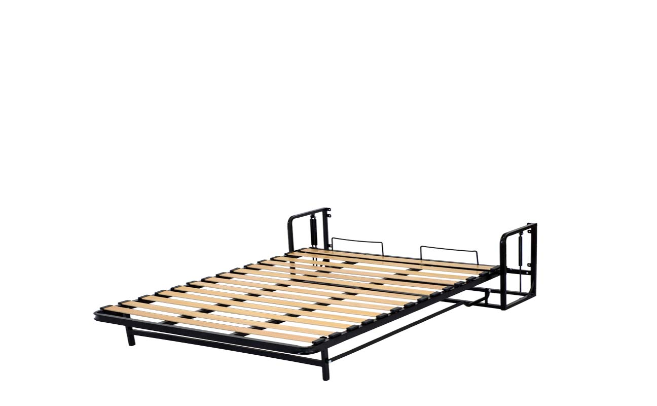 King european vertical wall bed frame 9
