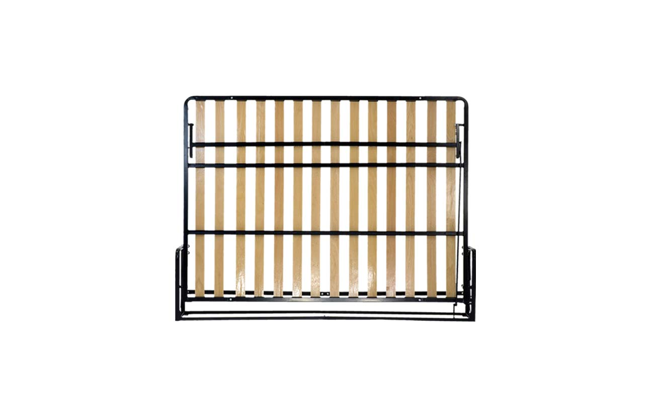 King horizontal wall bed frame 1
