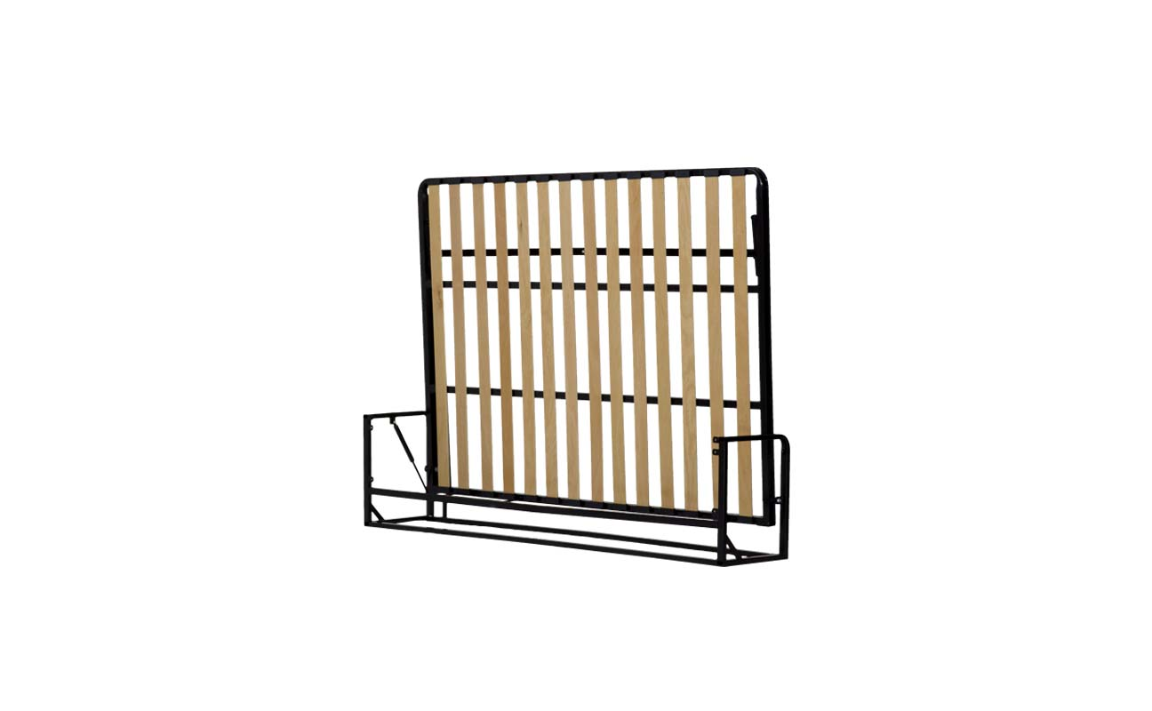 King horizontal wall bed frame 3