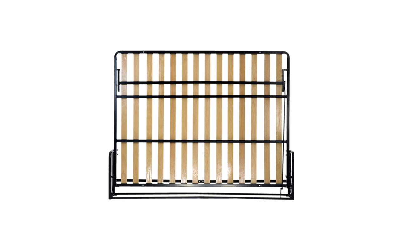 King european horizontal wall bed frame 1