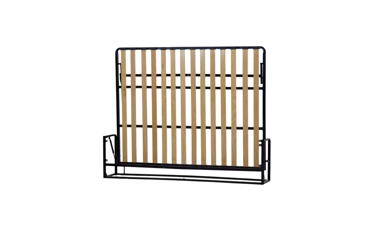 King european horizontal wall bed frame 4