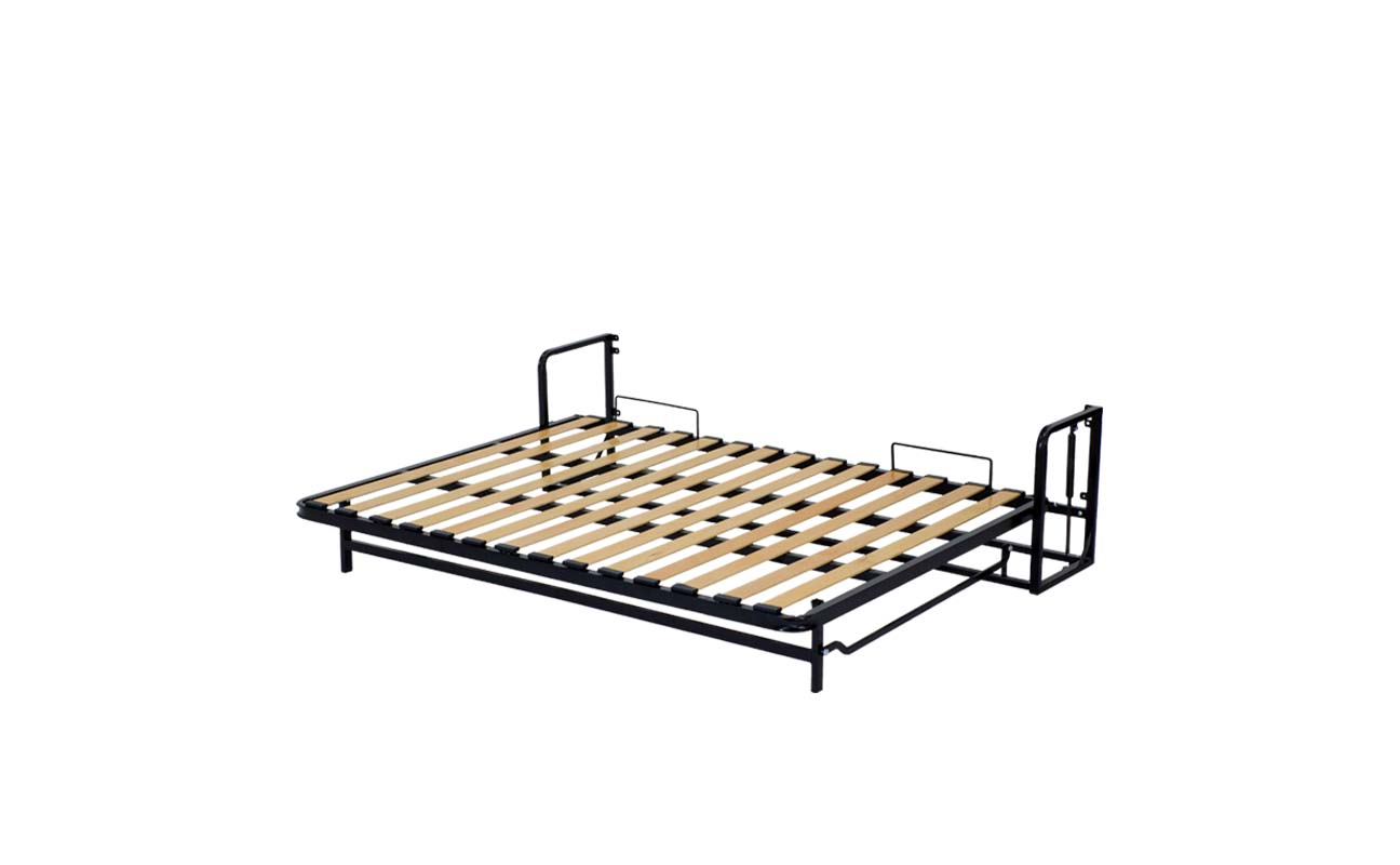 King european horizontal wall bed frame 9