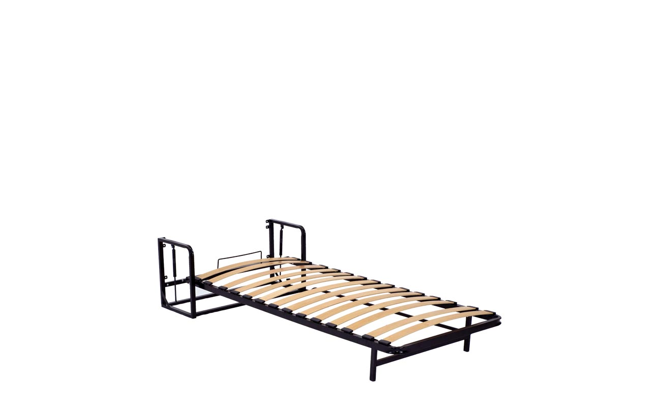 Single vertical wall bed frame 10