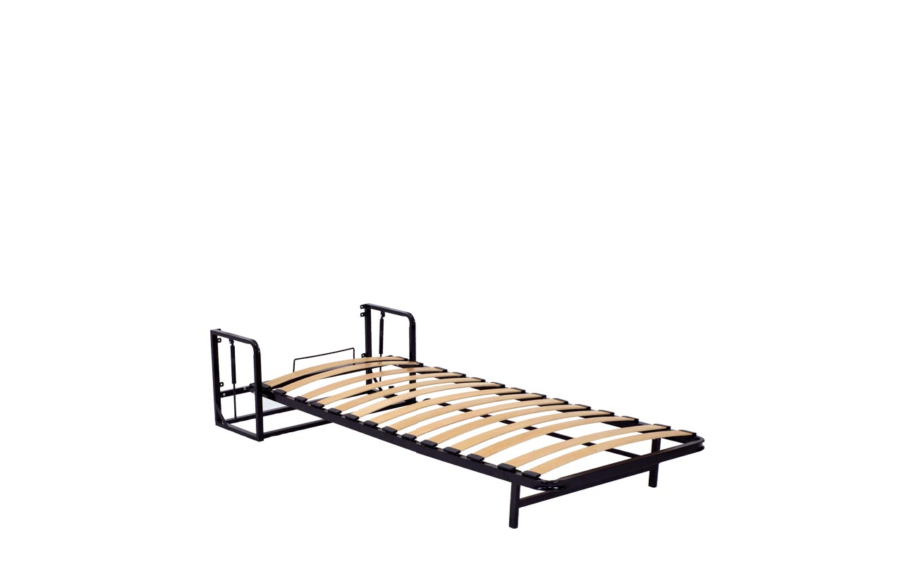 Single european vertical wall bed frame 9