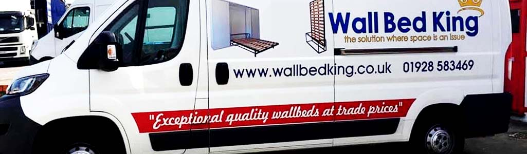 A Wall Bed King delivery van
