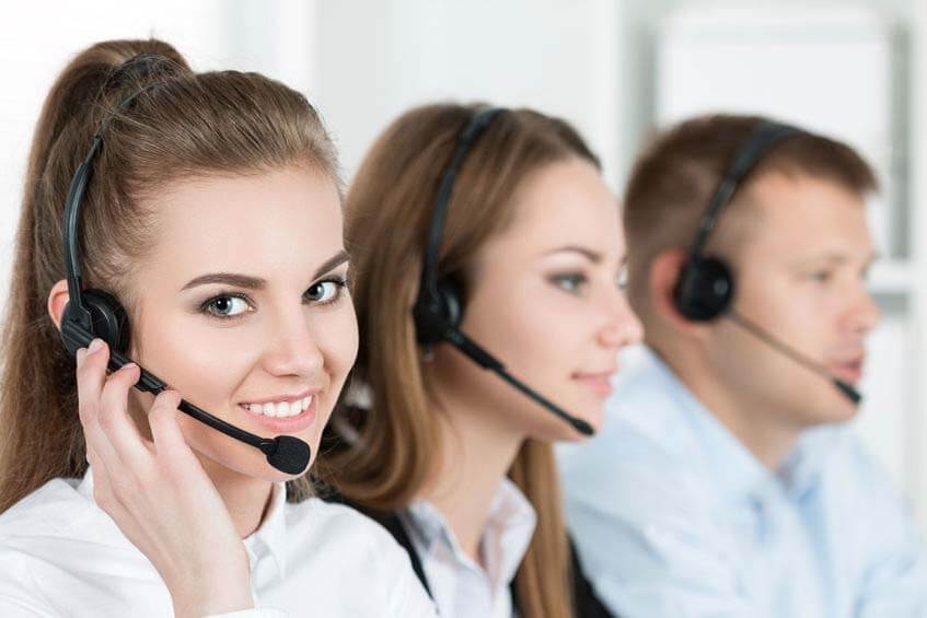 Our friendly customer support team
