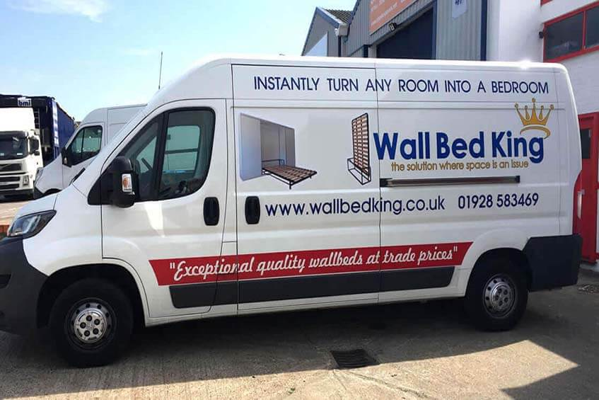 Wall Bed King delivery van