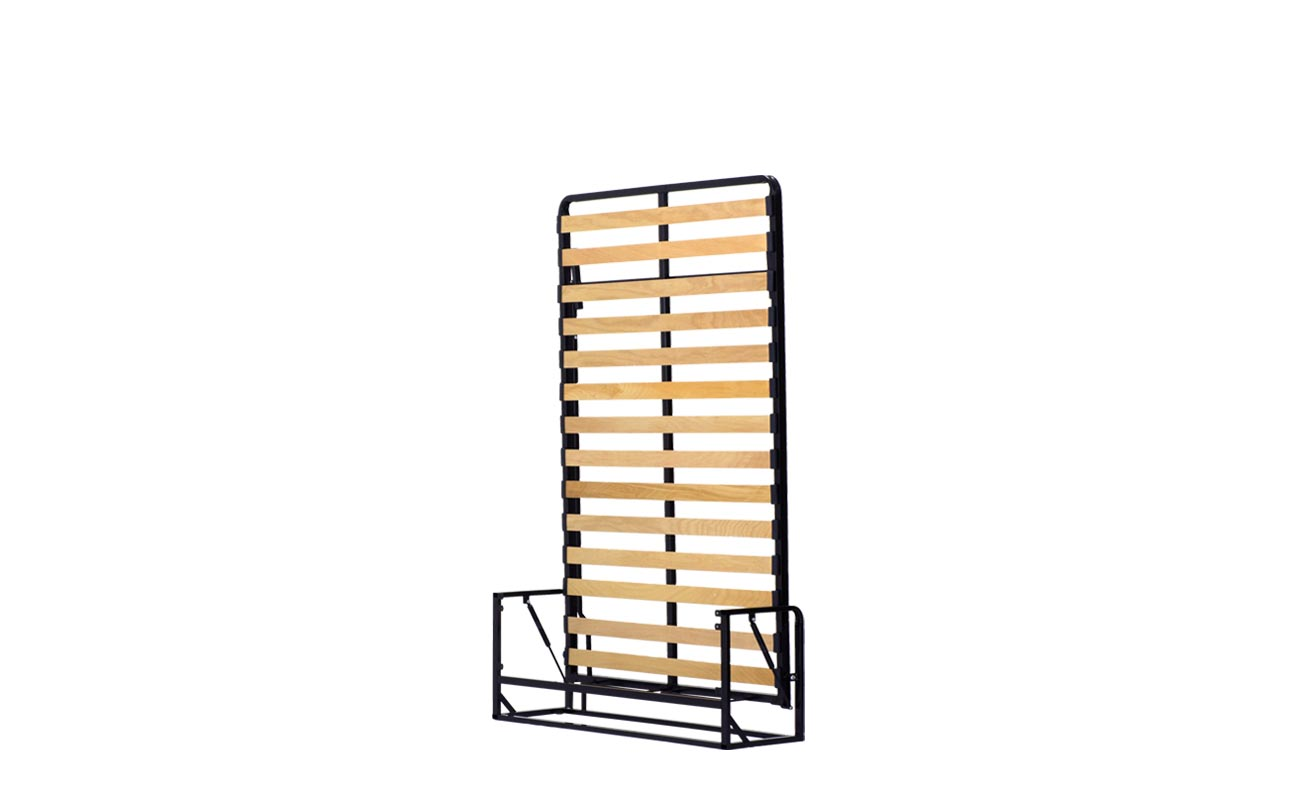 Small double wall bed frame 3