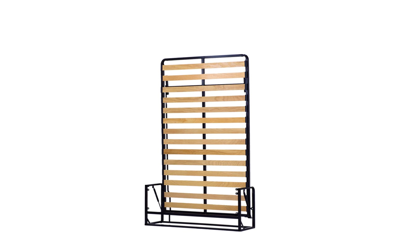 Small double wall bed frame 4