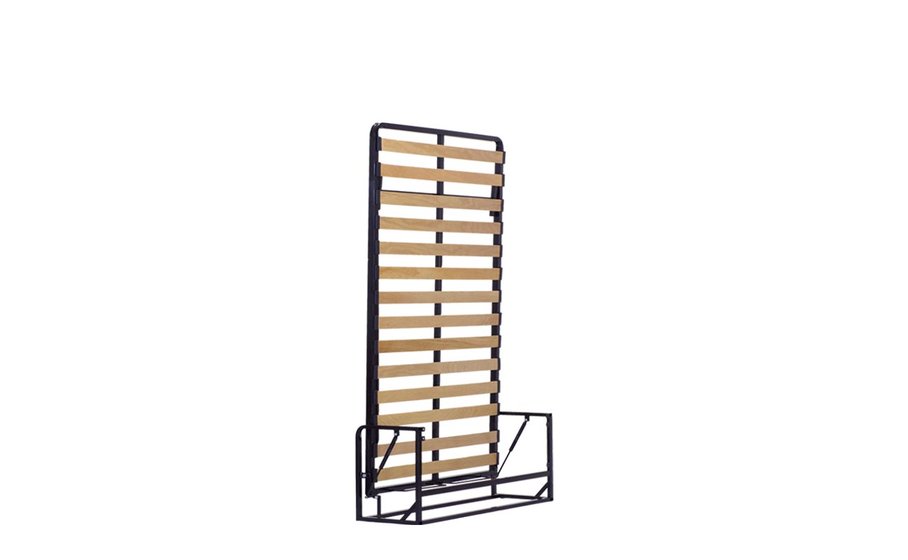 Small double wall bed frame 6