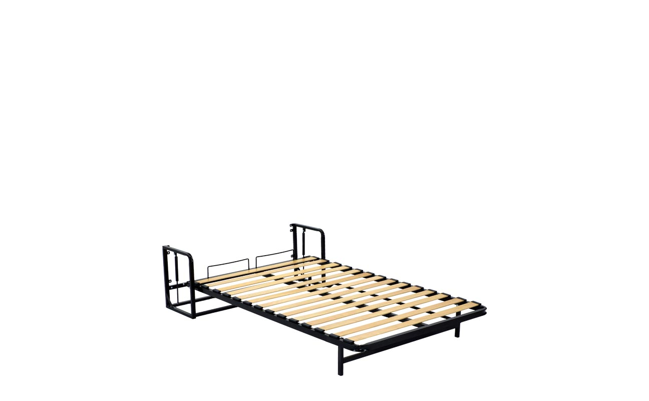 Small double wall bed frame 9
