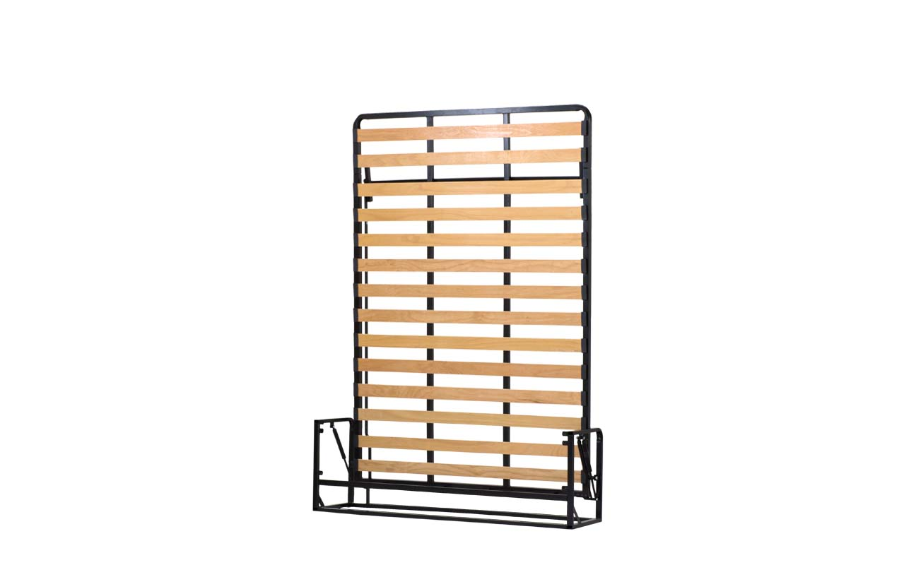 Double european vertical wall bed frame 3