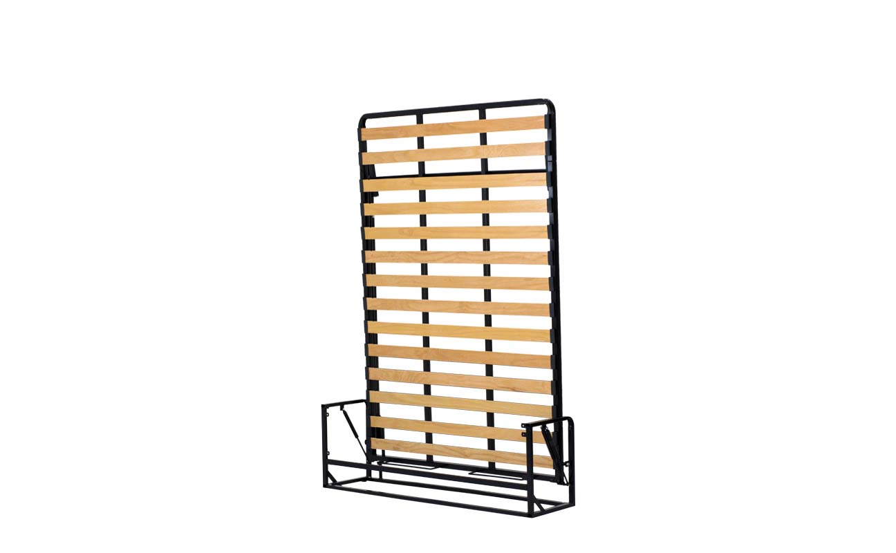 Double european vertical wall bed frame 6