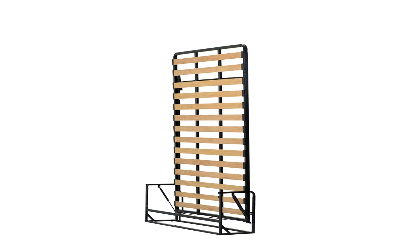King european vertical wall bed frame 2
