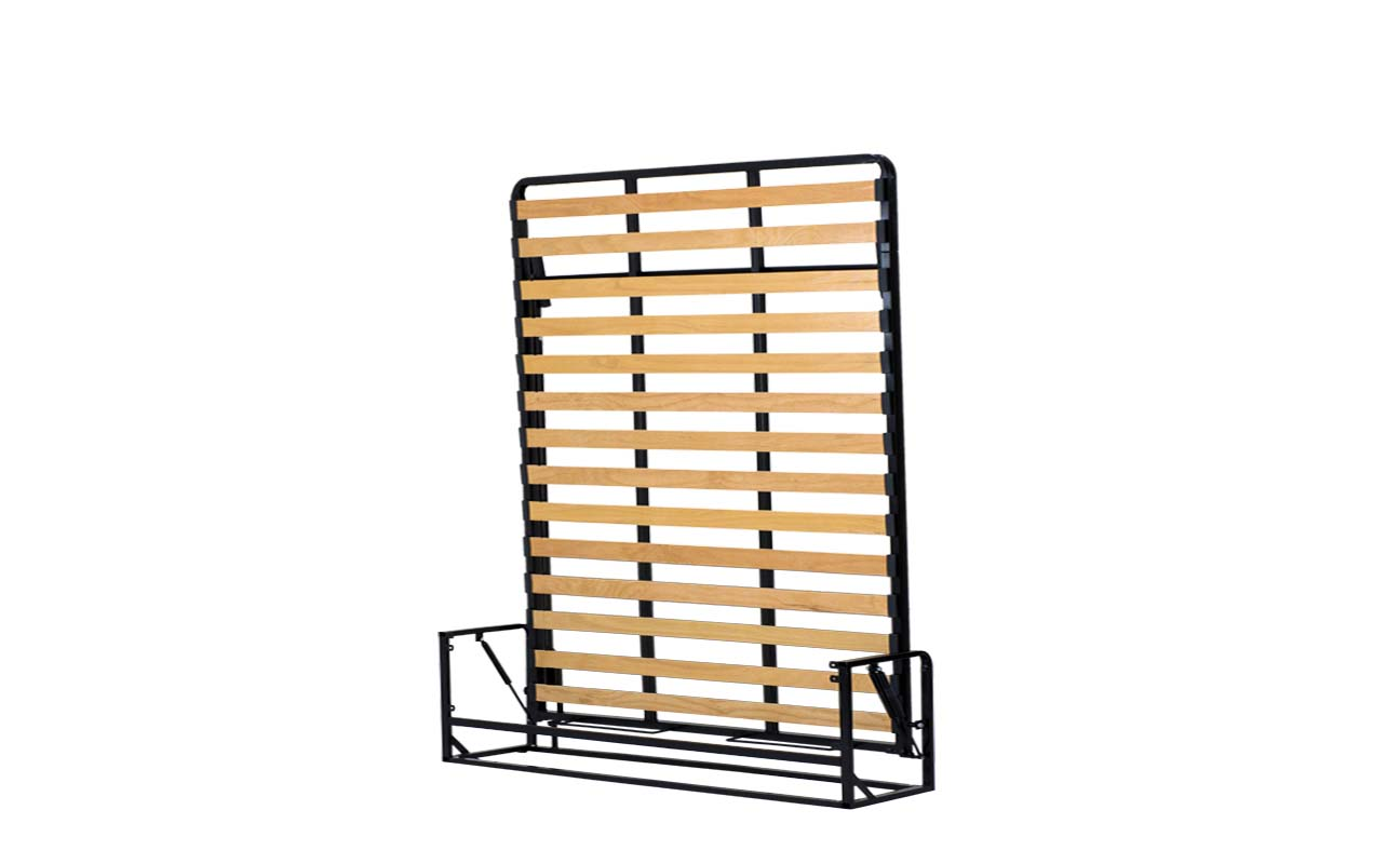 King european vertical wall bed frame 6