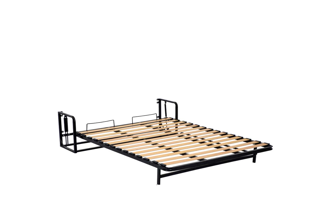 King european vertical wall bed frame 8