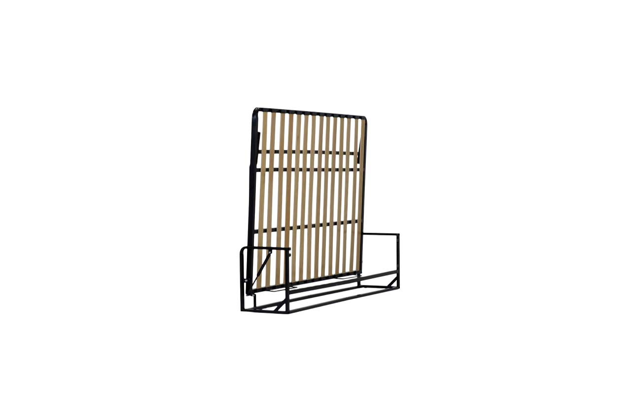 Small double european horizontal wall bed frame 5