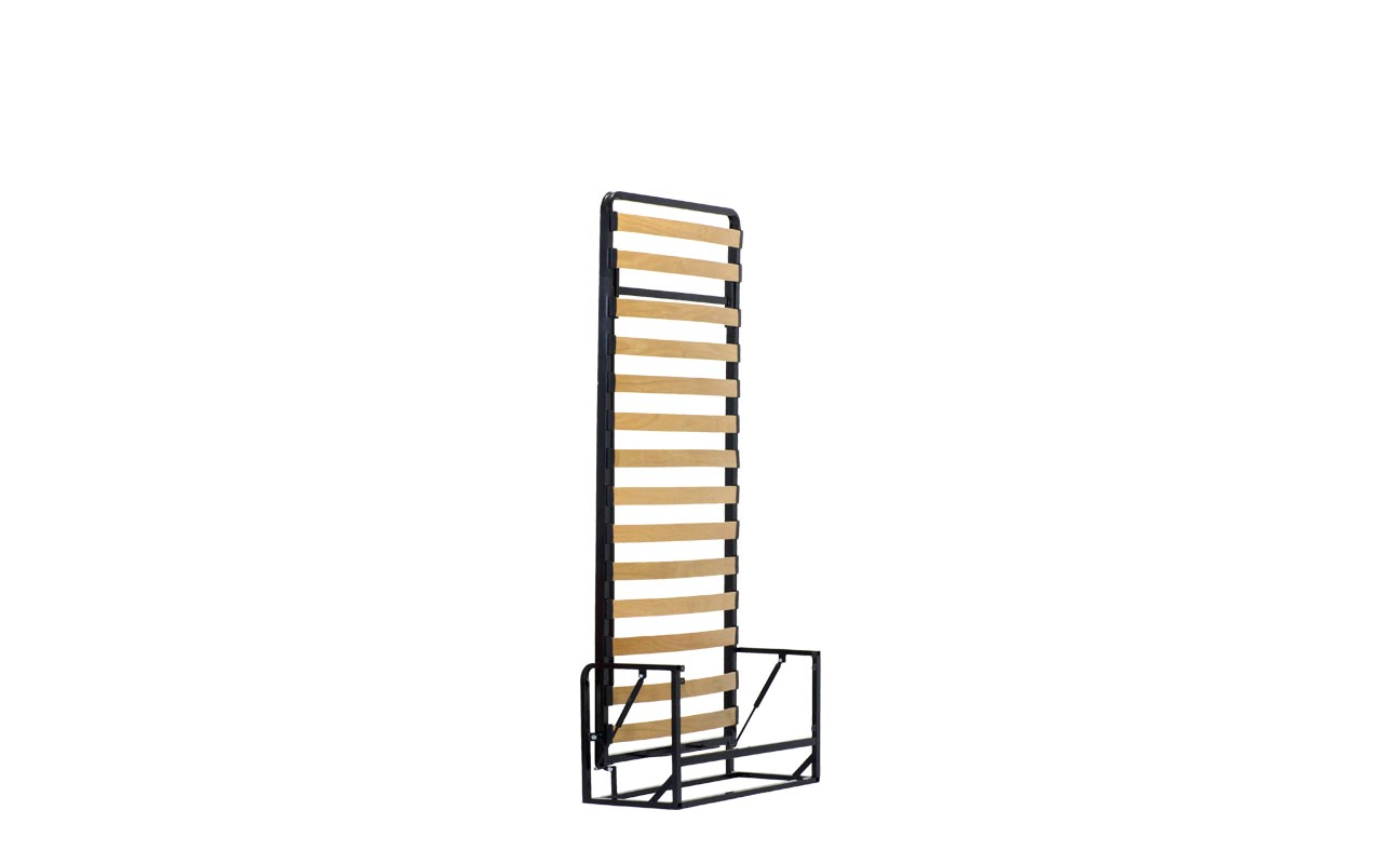 Single vertical wall bed frame 6