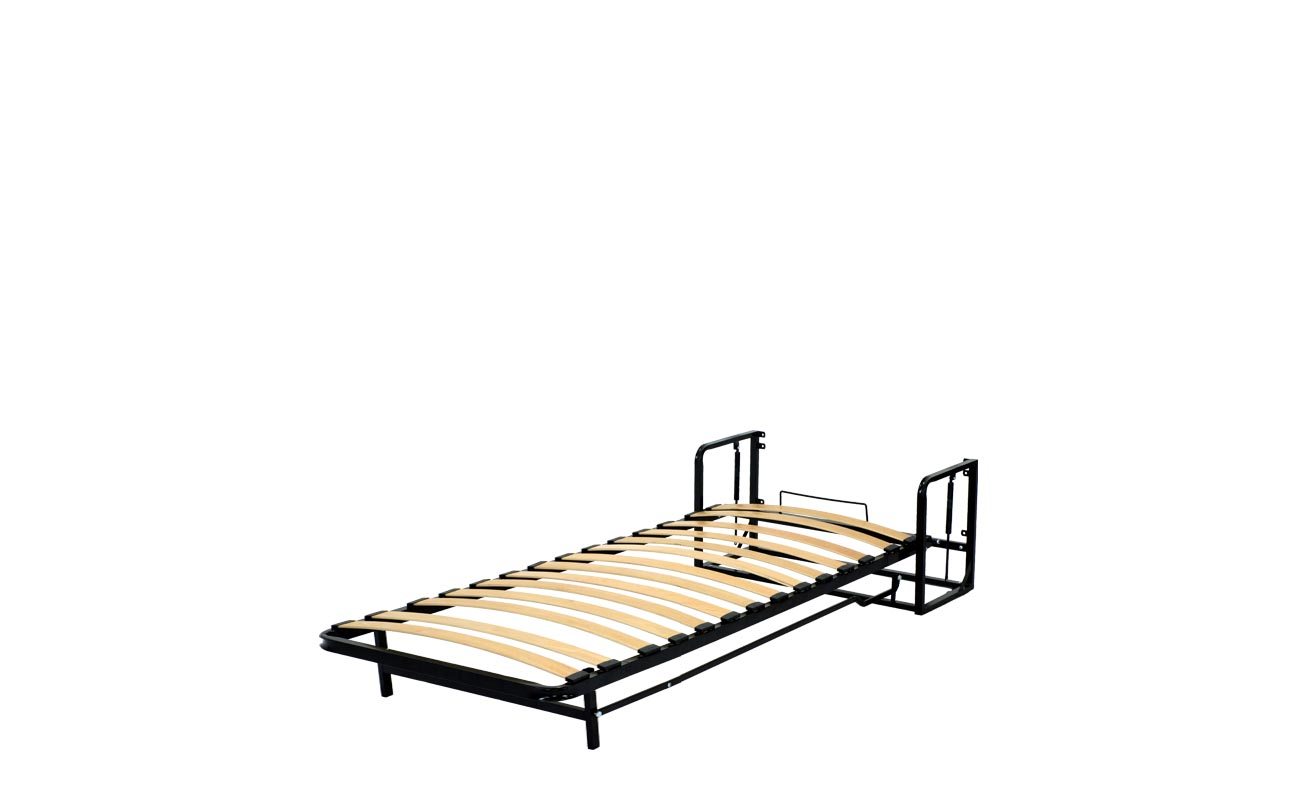 Single european vertical wall bed frame 8